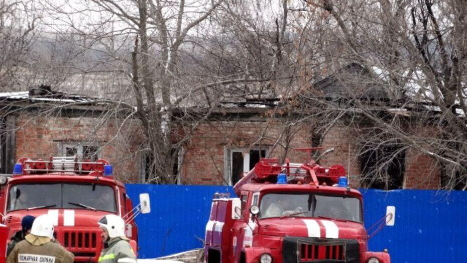 В Воронежской области сгорел психинтернат: 21 человек погиб