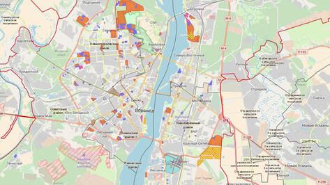 В Воронеже разработали интерактивную карту градостроительной деятельности