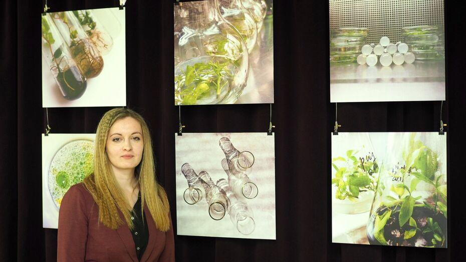 В Воронеже генетик открыла фотовыставку In vitro о лабораторных опытах
