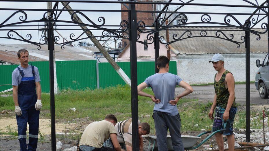 В терновском селе установят уличные тренажеры