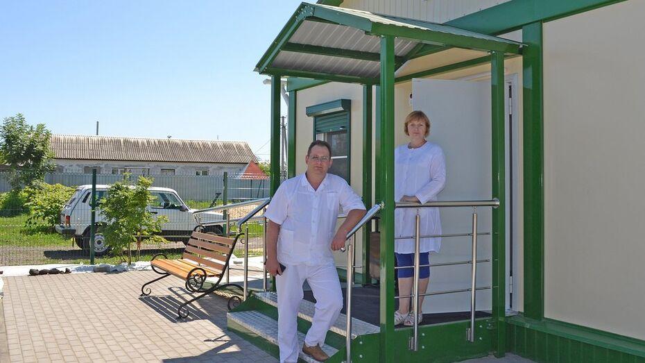Новый ФАП построили в лискинском поселке санатория имени Цюрупы