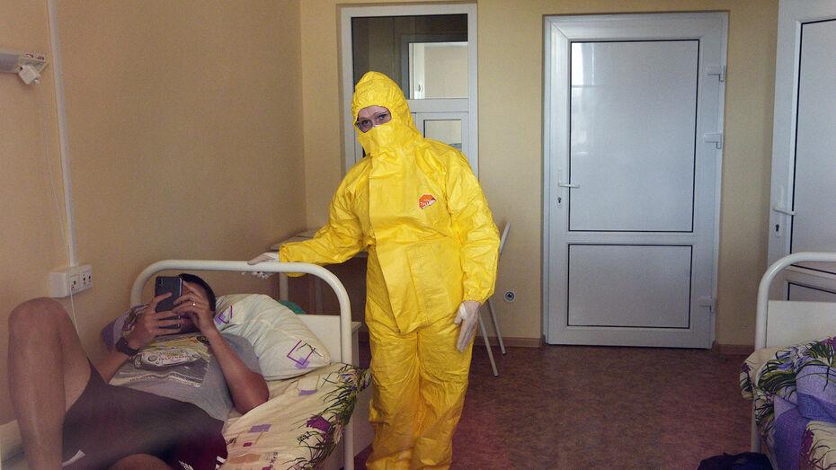 Для COVID-пациентов остались свободными 111 коек в воронежских больницах