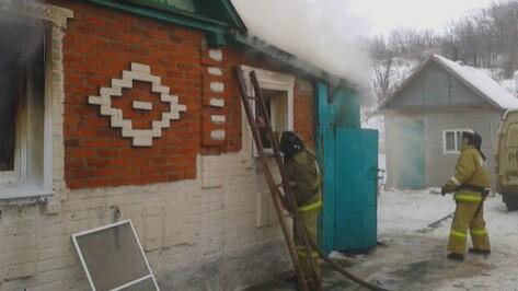 В Воронежской области 74-летняя женщина погибла при пожаре в доме