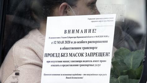 В Воронеже усилят контроль за масочным режимом в маршрутках