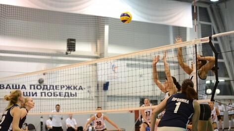 Волейбольный «Воронеж» проиграл «Ленинградке»