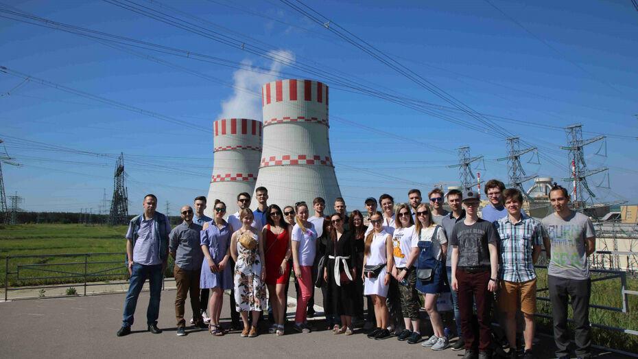 Молодые ученые посетили Нововоронежскую АЭС в рамках технического тура