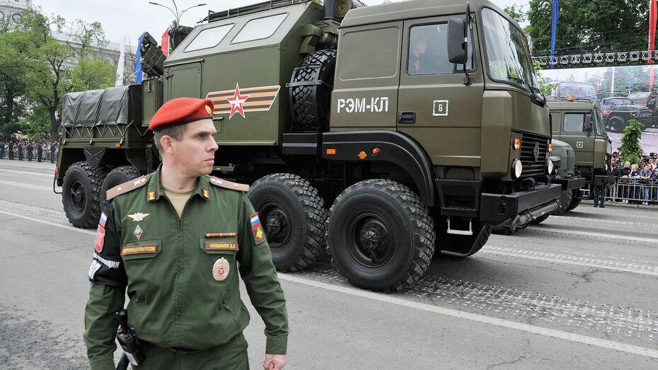 Воронежцам рассказали об изменении автобусных маршрутов 9 мая