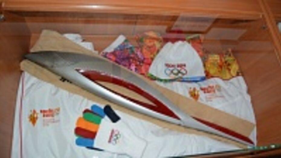 В Россоши открылась олимпийская выставка
