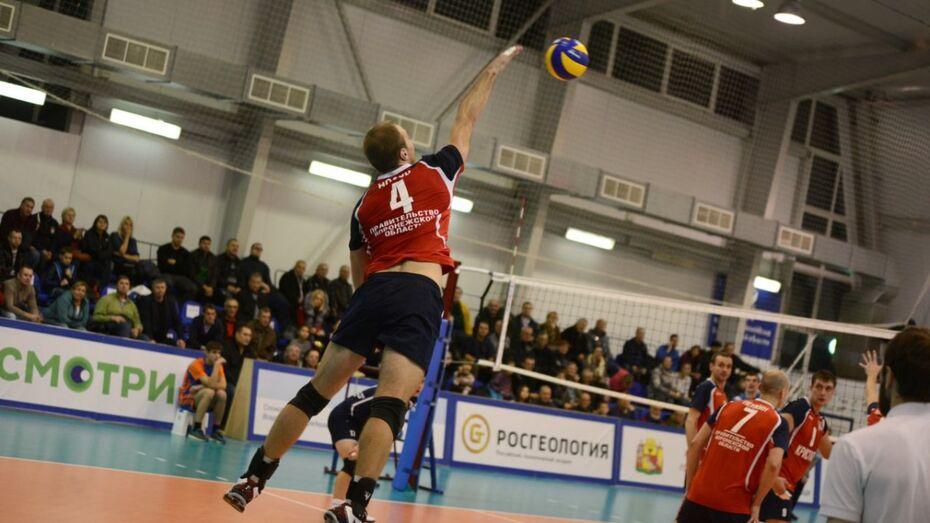 Воронежские волейболисты разгромили середняка Высшей лиги А