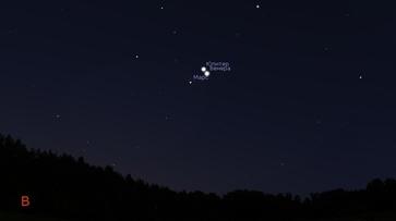 Воронежцы увидят соединение Юпитера и Венеры ранним утром 26 октября