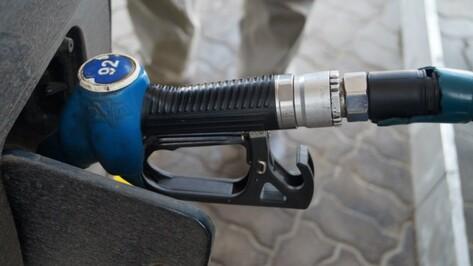 Воронежская область вышла на первое место в ЦФО по дороговизне бензина