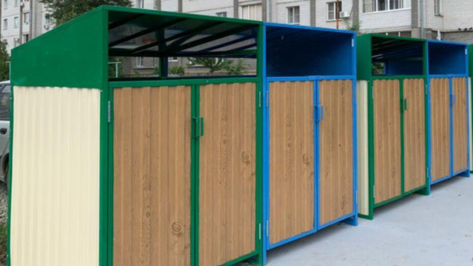 В Воронежской области создали интерактивную карту обновления контейнерных площадок