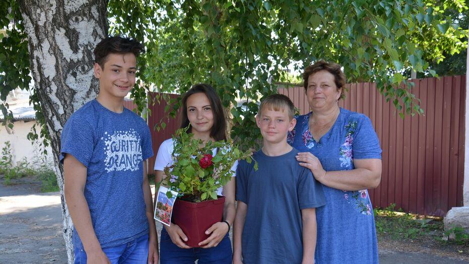Поворинская семья выиграла «золото» на национальном конкурсе ландшафтного дизайна