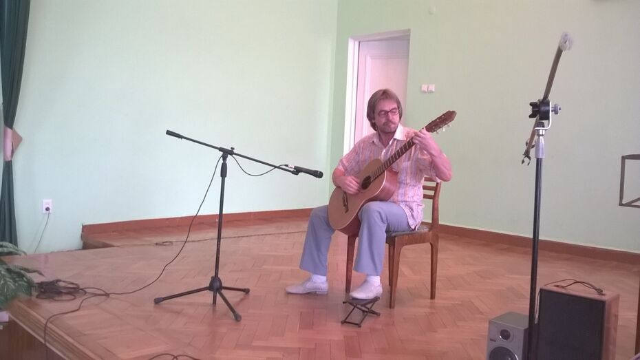В Воронеже пройдет концерт гитарной музыки к годовщине Победы