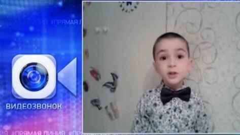 Воронежский 3D-принтер разрекламирует мальчик из Нальчика