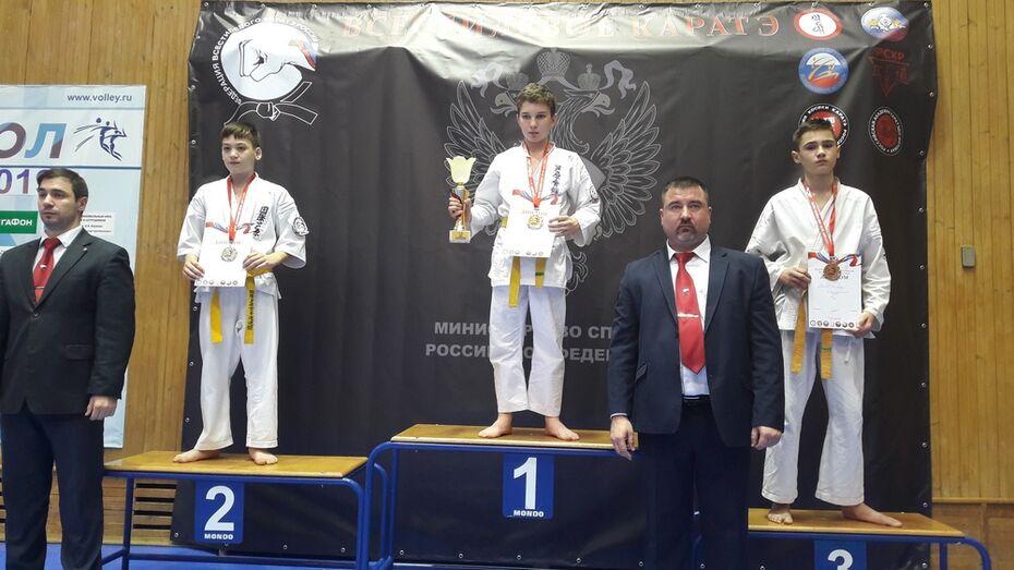 Верхнехавский каратист взял «бронзу» на всероссийских соревнованиях по всестилевому карате