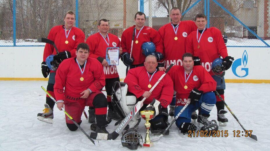 В Рамонском районе финишировало первенство по хоккею с шайбой