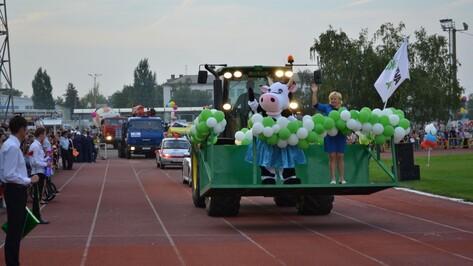 В Лисках День города отметили парадом автомобилей