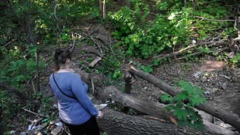 СК: найденную мертвой в воронежском парке студентку убили из-за вещей