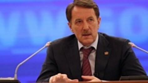 Губернатор Воронежской области поборется за звание «Государственного человека»