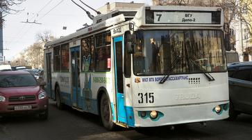 Воронежским троллейбусам продлили вечернее время работы