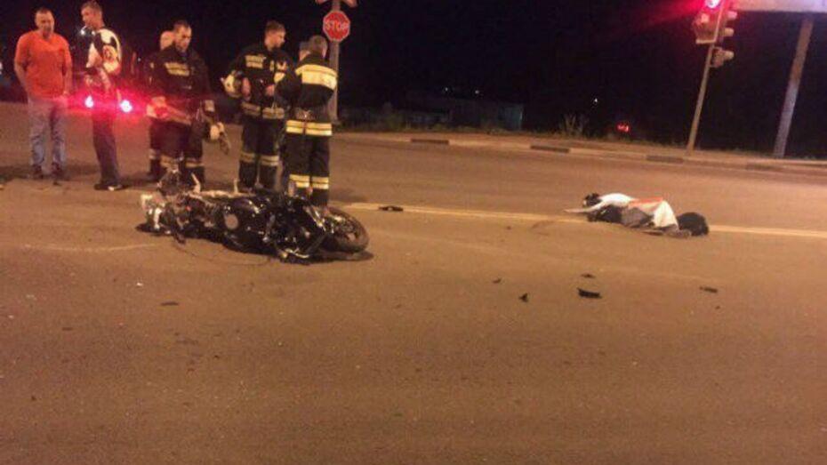 Друзья погибшего воронежского мотоциклиста начали поиск свидетелей ДТП