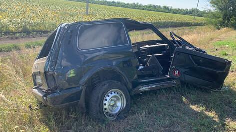 В Воронежской области пьяный водитель на «Ниве» устроил смертельное ДТП