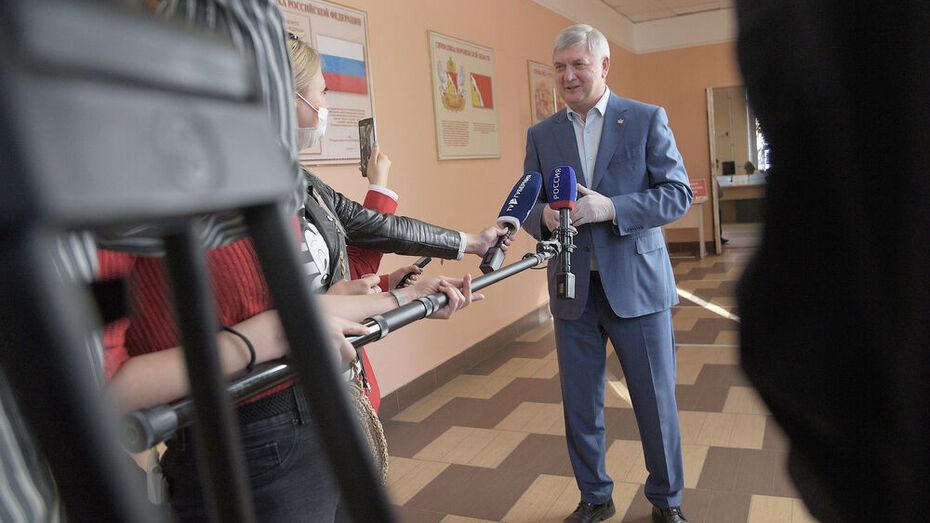 Губернатор ответит на вопросы воронежцев в прямом эфире