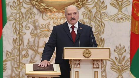 Александр Лукашенко в пятый раз вступил в должность президента Белоруссии