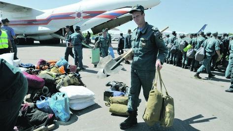 Воронежские спасатели готовы вылететь в Амурскую область, которой грозит серьезное подтопление