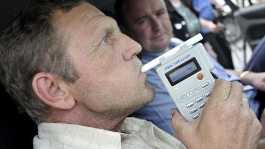 3 января пьяными за руль сели 38 жителей Воронежа и области