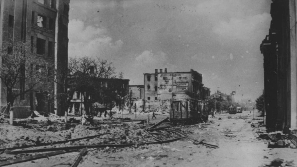Немцы в городе. Как военнопленные восстановили Воронеж