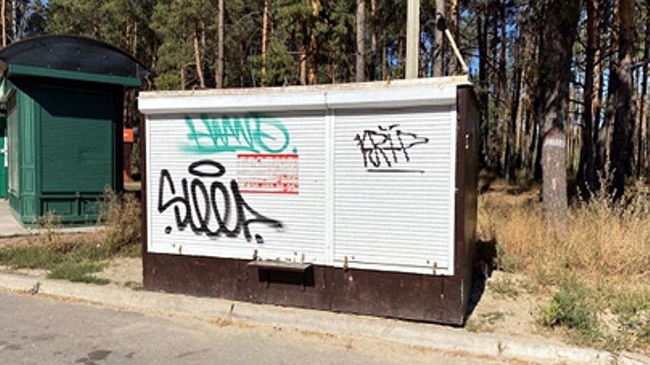 Еще 12 киосков запланировали снести в Воронеже в октябре