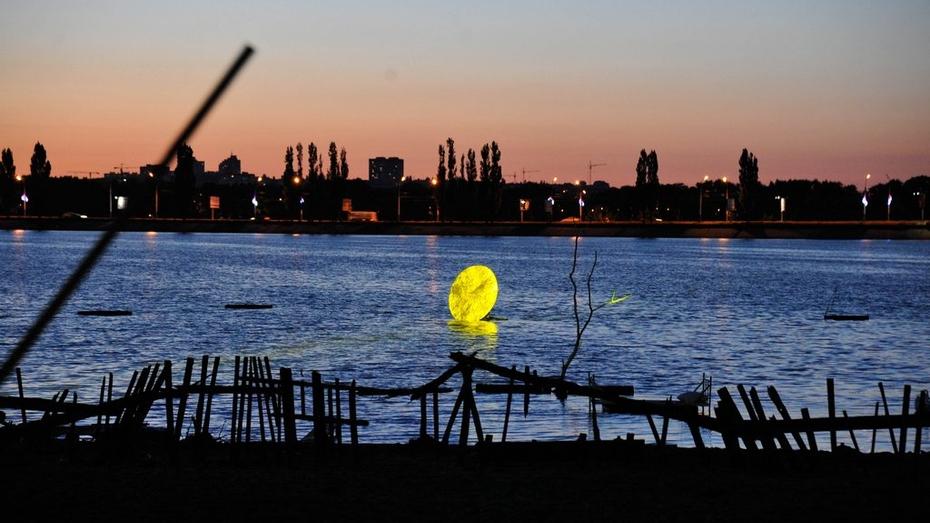 На фестивале LightON воронежское водохранилище оживет под 3D-проекциями