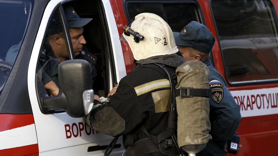 При пожаре под Воронежем погиб 63-летний мужчина