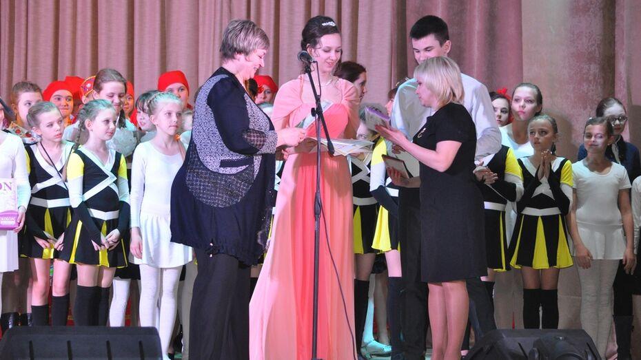 В Репьевском районе прошел конкурс юных талантов «Звездный шанс»