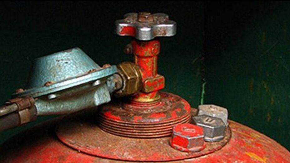 В Новоусманском районе взрыв газового баллона наполовину разрушил частный дом