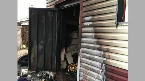 В Новой Усмани пожарные спасли из горящего дома 2 женщин