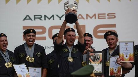 Сборная России победила в конкурсе военных водителей в Воронежской области