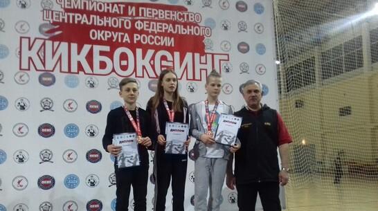 Борисоглебские кикбоксеры завоевали «серебро» и «бронзу» первенства ЦФО