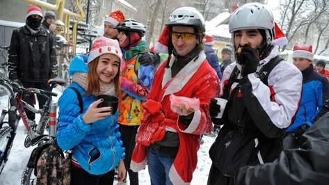 «Веловоронежцы» угостят кофе и чаем участников Winter Bike to Work