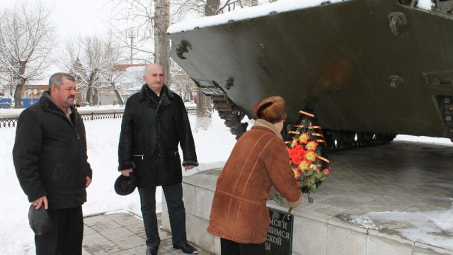 В Петропавловке почтили память погибших воинов-афганцев
