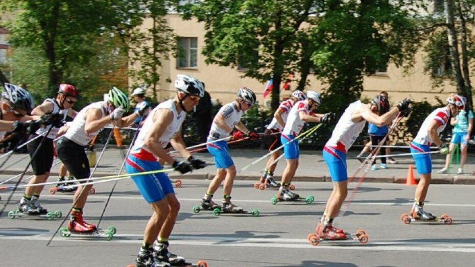 В Воронеже перекроют 4 улицы из-за чемпионата России по лыжероллерам