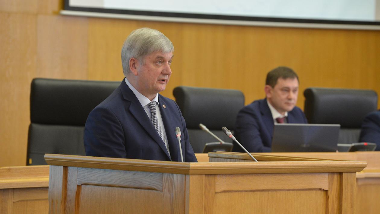 Ежегодный отчет губернатора – 2021. Текстовая трансляция РИА «Воронеж»