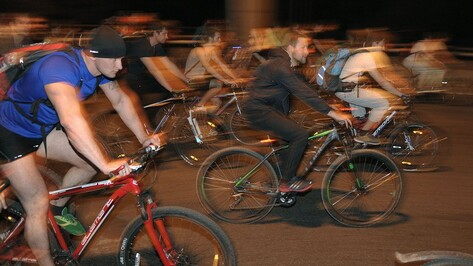 Шестая Велоночь пройдет в Воронеже 28 мая