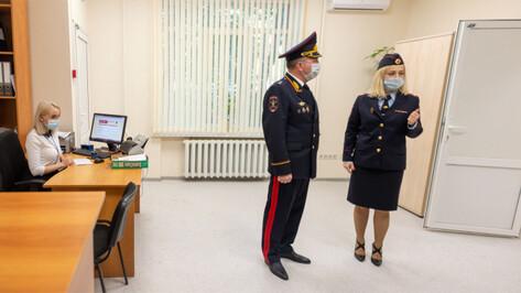 В новое здание переехал отдел по вопросам миграции Коминтерновского района Воронежа