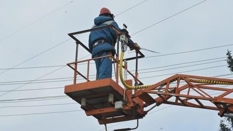 Воронежские энергетики восстановили нарушенное непогодой электроснабжение