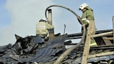 В Грибановском районе в горящем доме погибли два человека