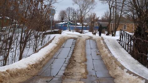 Семилукская райадминистрация объявила аукцион на строительство моста в Латном