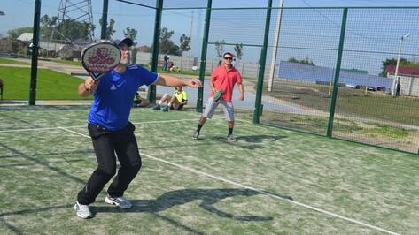 В Новоусманском районе прошел первый в России турнир по игре в падел-теннис